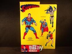 Superman Comic Version Mego Corp 12.5 Figure W Box Vintage 1977 Rare As It Gets