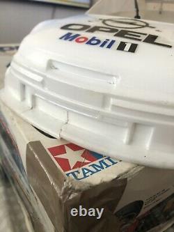 Tamiya vintage opel calibra V6 DTM with 1 shells Body box With Radio Gear