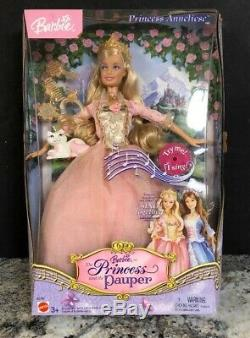 The Princess and The Pauper Princess Anneliese New in Box Mattel Barbie 2004