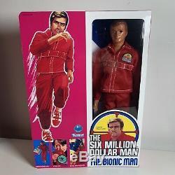 The Six Million Dollar Man Vintage 13 action figure 1975 New Box Bionic Kenner