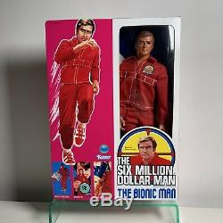 The Six Million Dollar Man Vintage 13 action figure 1975 New Box Bionic Kenner