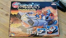 Thundercats Thundertank Vehicle Rare With Box 100% Complete Vintage