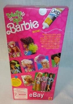 Totally Hair Barbie Brunette Doll Vintage 1991 Ultra Long Hair Sealed Box