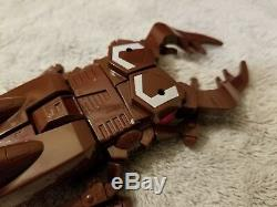 Transformers CHOP SHOP Deluxe Insecticon UNUSED STICKER Complete Box G1 Vintage