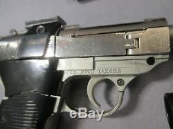 Transformers G1 U. N. C. L. E. MEGATRON Complete + Box Walther P-38 Authenic Vintage