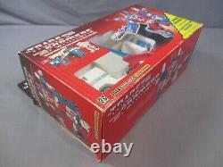 Transformers G1 ULTRA MAGNUS + 3RD PARTY MATRIX + Box PLASTIC TIRE Vintage 1986