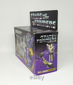 Transformers G1 Vintage ASTROTRAIN Figure Complete with Box 1985 Hasbro