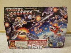 Transformers ROADBUSTER ORIGINAL UNUSED STICKERS Complete Box G1 Vintage
