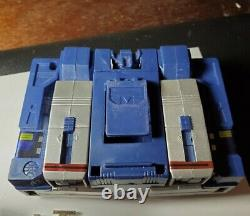 Transformers Vintage G1 Soundwave with cassettes COMPLETE WITHOUT BOX