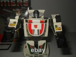 Transformers g1 original vintage wheeljack 100% complete with box