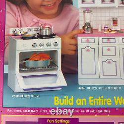 Tyco 1995 Kitchen Littles Deluxe Refrigerator Vintage Toy Box Fits Barbie