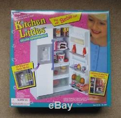 Tyco Kitchen Littles Deluxe Refrigerator, New In Box, 1995 Vintage, MRN 2041