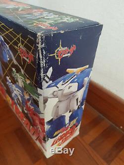 Used Vintage Cms Brave 01EX Mospeada AFC-01H Legioss & Tread Box Bad Shape