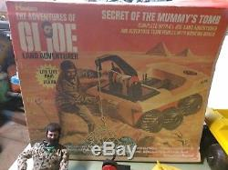 VINTAGE 1970 HASBRO GI JOE SECRET OF THE MUMMY'S TOMB SET WithBOX 7441