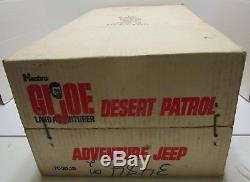 VINTAGE 1971 HASBRO GI JOE DESERT PATROL ADVENTURE JEEP WithBOX WOW