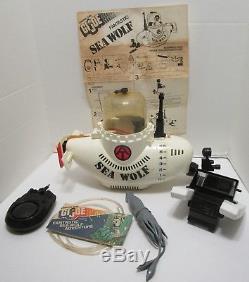 VINTAGE 1975 HASBRO GI JOE FANTASTIC SEA WOLF WithBOX WOW
