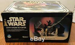 VINTAGE 1978 STAR WARS DARTH VADER TIE FIGHTER IN BOX LIGHT WORKS 39100 No Sound