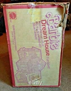 VINTAGE 1985 AUTHENTIC Barbie Dream House Pink A Frame With Original Box