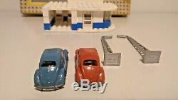VINTAGE 50´s LEGO 307 VW Auto Showroom BEETLE 187 withBOX DENMARK RARE