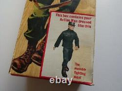 VINTAGE ACTION MAN BOXED SOLDIER 1st issue