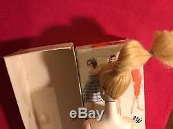 VINTAGE BARBIE BLONDE PONYTAIL 3 Doll with BOX / Mattel