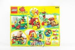 VINTAGE LEGO Rare Duplo Dinosaur Set 2604 Dino World Caveman 21 HUGE SEALED