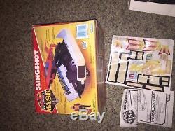 VINTAGE M. A. S. K. MASK 1986 Riker Slingshot KENNER TOY VEHICLE BOX RV VAN
