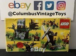 VINTAGE ORIGINAL LEGO Set# 6066 Camouflaged Outpost Castle Forestmen 1987