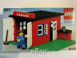 VINTAGE & RARE 1979 LEGO Classic Town Set 361 Garage with Instructions & Box