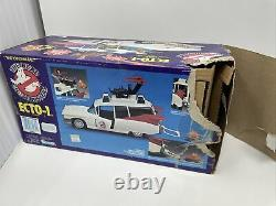 VINTAGE The Real Ghostbusters ECTO 1 Vehicle NEW OPEN BOX COMPLETE Kenner 1984