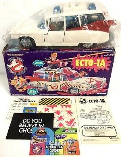 VINTAGE The Real Ghostbusters ECTO 1A Vehicle NEW OPEN BOX COMPLETE Kenner