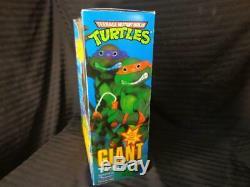 VIntage Teenage Mutant Ninja Turtles 13 Giant RAPHAEL Figure NOS MINT IN BOX