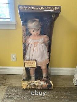 VTG Baby 2 Year Old Toddler Doll Eugene Life Size Walking New In Box Rare 1970s