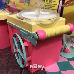 VTG Barbie ICE CREAM SHOPPE Mattel #3653 Box Mat Accessories Instructions 1986