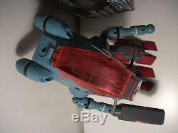 Vintage 11 Robotech Zentraedi Officers Battle Pod Mech + Box Harmony Gold Rare