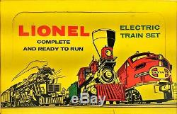 Vintage 1959 LIONEL 1621WS Box Set 027 with 2037 Engine 2-6-4 Used for Restoration