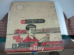 Vintage 1963 American Flyer 20766 S Gauge THE MOHAWK SET withOriginal Box