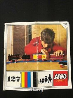 Vintage 1969 Lego Train Set 127 Complete with box and instructions