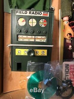 Vintage 1970s Action Man Field Commander & Field Radio Boxed