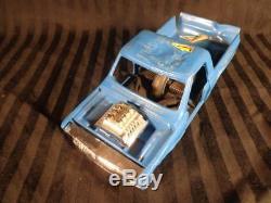 Vintage 1972-74 Kenner SSP SMASH UP DERBY set in box blue pink cars RAMPS CORD