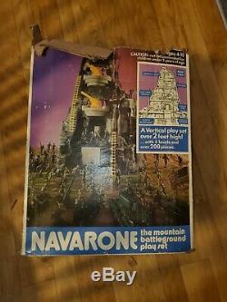 Vintage 1975 Marx Iwo Jima Giant Playset with Instructions Original Box Navarone