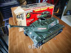 Vintage 1975 The Defenders Iron Knight Tank In Original Box 12 GI Joe Hasbro