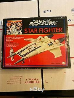 Vintage 1979 MEGO Buck Rogers STAR FIGHTER Space Ship in BOX Complete Clean