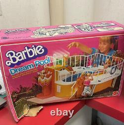 Vintage 1980 Barbie Dream Pool, swimming pool Box included Almost Complete