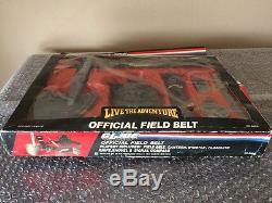 Vintage 1980's Nasta GI JOE Offical Field Belt Unused In Rough Box Look Read