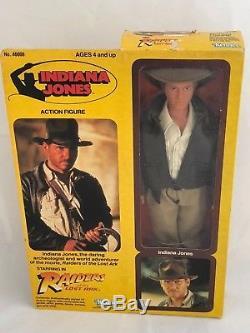 Vintage 1981 Kenner Indiana Jones 12 Action Figure Mint Sealed In Unopened Box