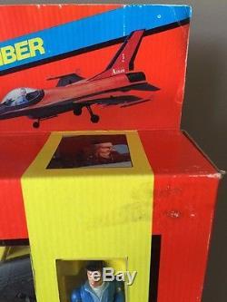 Vintage 1983 Galoob A Team A-Team Interceptor Jet Bomber Murdock NEW OPEN BOX