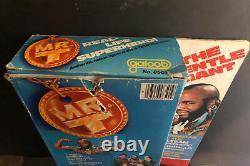 Vintage 1983 Galoop A-Team Mr. T Action Figure 8501 In original Sealed Box