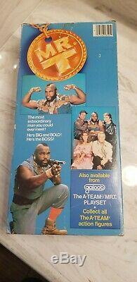 Vintage 1983 MR. T A-Team GALOOB 12 In Box! Read Description