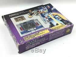 Vintage 1984 Hasbro G1 Transformers DECEPTICON SOUNDWAVE & BUZZSAW 100% IN BOX